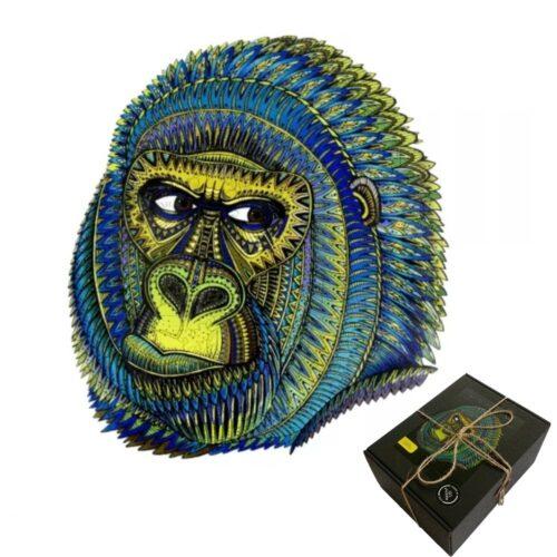 Puzzle en bois Le Gorille King