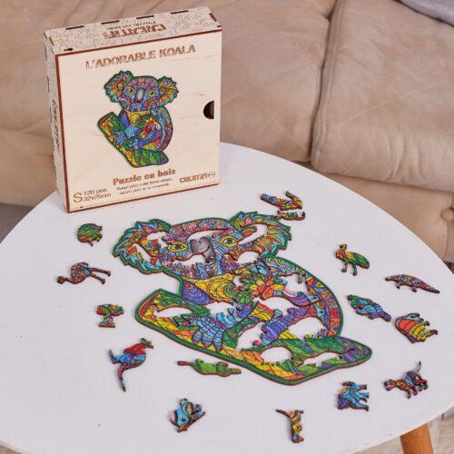 L'Adorable Кoala Puzzle en bois