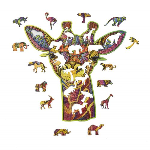 L'Amusante Girafe Puzzle en bois